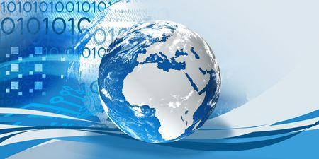 digital globe Stock Photo - 7731451