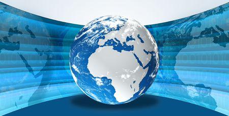 digital globe Stock Photo - 7731453