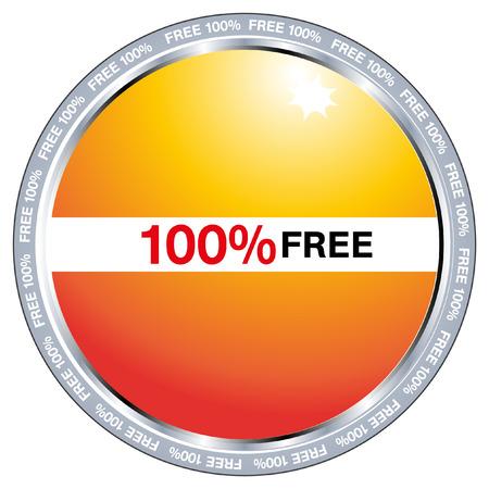 guaranteed label Stock Vector - 8104320
