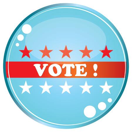 U.S. elections Stock Vector - 8104348