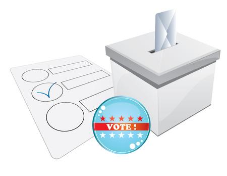 senate: ballot box