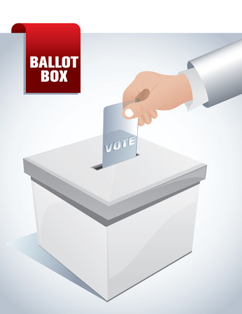 voting ballot: urnas