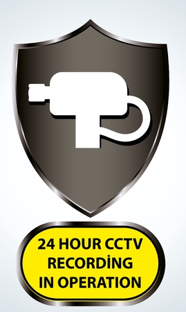 security camera icon Illustration