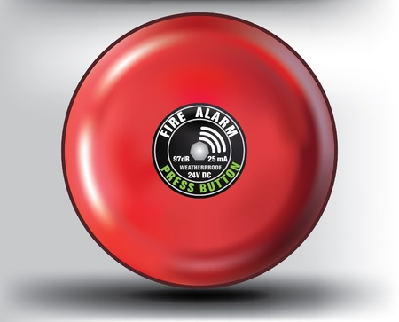 fiambres: bot�n de alarma contra incendios