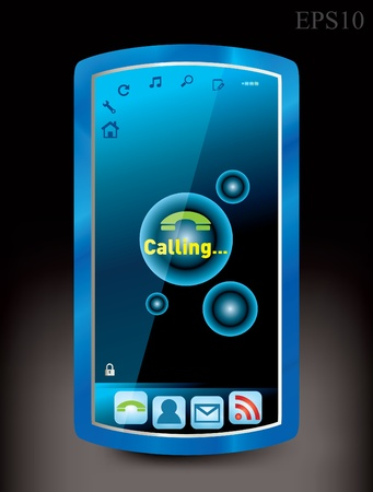 cell phone Stock Vector - 8787389