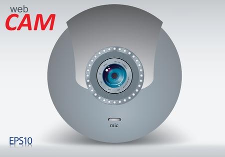 web camera Stock Vector - 8787356