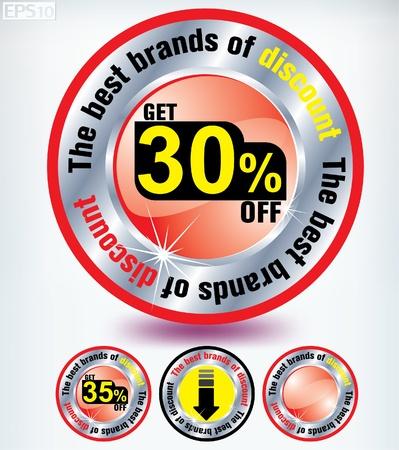 discount Stock Vector - 8787366