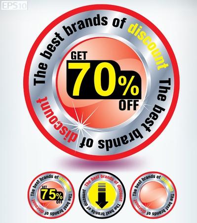 discount Stock Vector - 8787361