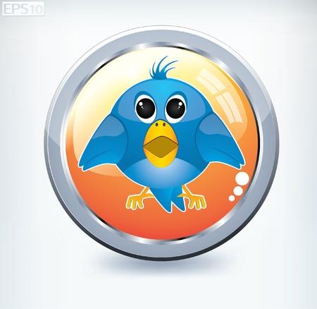 talkative: bird