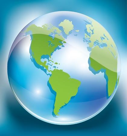 green earth Stock Vector - 10765670