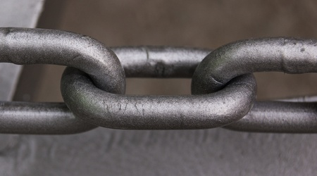 iron chain Stock Photo - 12002341