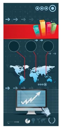 e-commerce poster Illustration