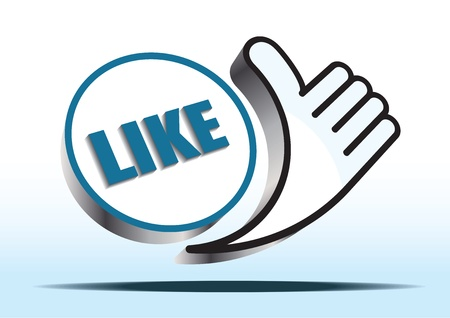 like button Stock Vector - 12023402