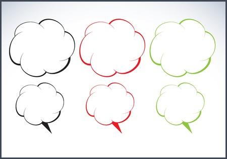 speech cloud Stock Vector - 12482989