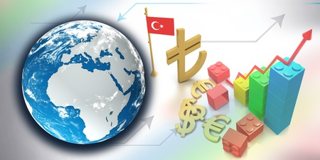The new symbol of Turkish Lira Stock Photo - 12774521