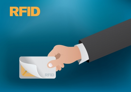 rfid: RFID card Illustration