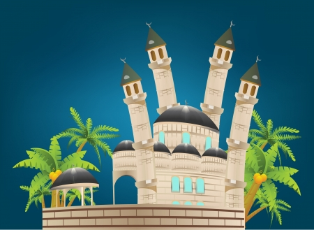 ul: Mosque Illustration