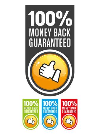 satisfaction: Satisfaction guarantee label