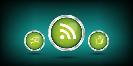 web button Illustration