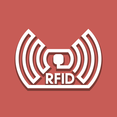 Wireless tag used for RFID purposes