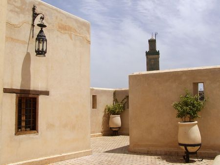 Morrocan roof photo