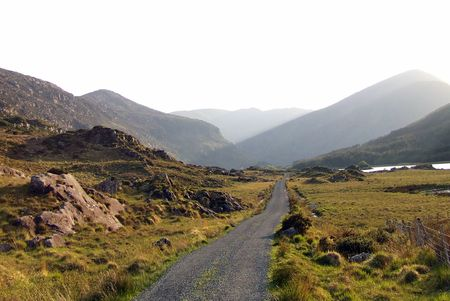 kerry: Black Valley, Kerry, Ireland Stock Photo
