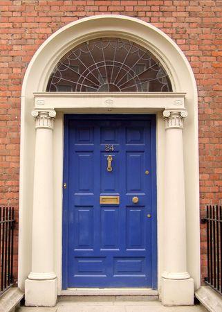 Georgian door, Dublin, Ireland Stock Photo - 4062329
