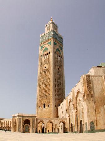 Mosque Hassan II, Casablanca, Morocco photo
