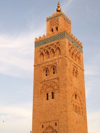 Koutoubia Mosque, Marrakech, Morocco photo