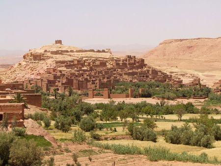 Casbah Ait Benhaddou, Morocco Stock Photo