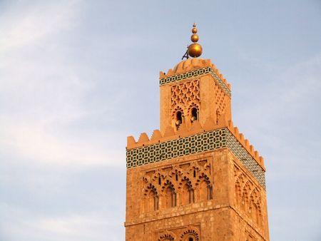 Koutoubia Mosque, Marrakech, Morocco photo