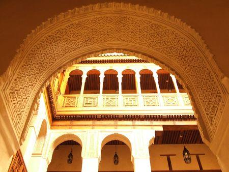 Fondouk el-Najjerine, Fes, Morocco photo