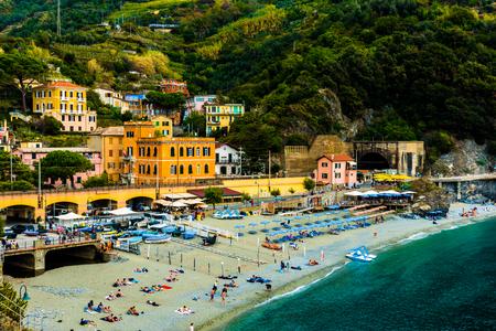 Monterosso Landscape in Cinque Terre Italy