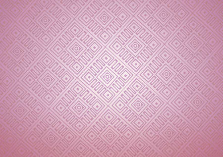 Purple pink squares in Textured Background. Abstract Deco Lattice design illustration. Repeat Tie Dye Illustration. Ikat Turkish Design. Ethnic Pattern. Abstract Shibori Motif.