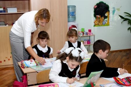 Учитель с учеником русское