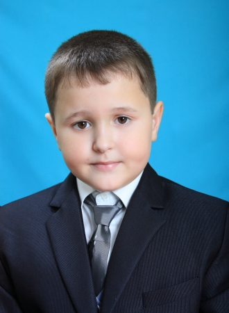 portrait of the pupil at the Russian school on Honour roll on January 16, 2013
