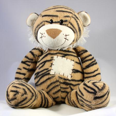 tigre cachorro: cachorro de tigre del juguete de los niños