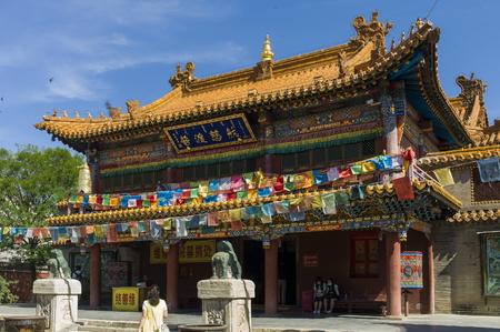 China the Inner Mongolia Autonomous Region, Hohhot City, Dazhao temple, religious architecture art