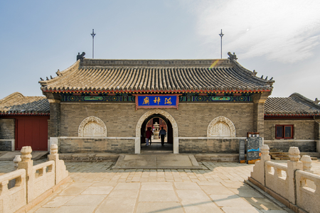 Chinas Hebei Province, Qinhuangdao, Shanhaiguan, the old leader, the temple of the sea Editorial