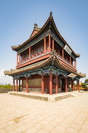 Chinas Hebei Province, Qinhuangdao City, Shanhaiguan, the old leader, Chenghai building