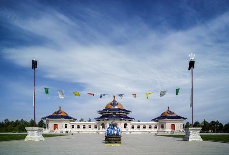 khan: Ordos, Mausoleum of Genghis Khan, Inner Mongolia, China