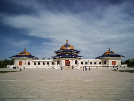 Ordos, Mausoleum of Genghis Khan, Inner Mongolia, China