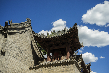 bluesky: Chinese in Shanxi Province, Xinzhou City, on behalf of the county, the world cultural heritage Yanmenguan Editorial