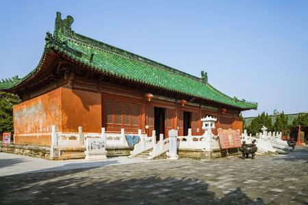 China Hubei Province, Jingmen City, Zhongxiang City, Yuan Yu Palace