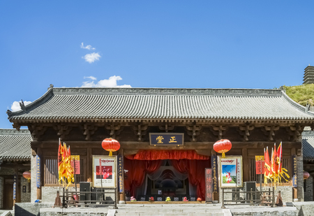Shanxi Province at Xinzhou City, the world cultural heritage Yanmen Pass