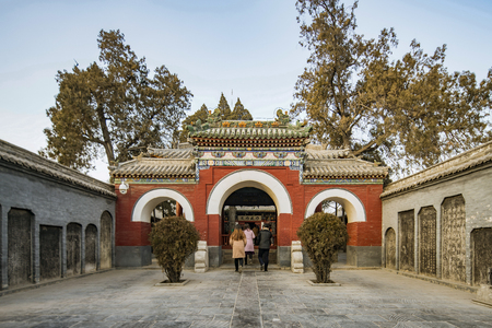 China Henan Province, Anyang, Tangyin County, Yue Fei Temple