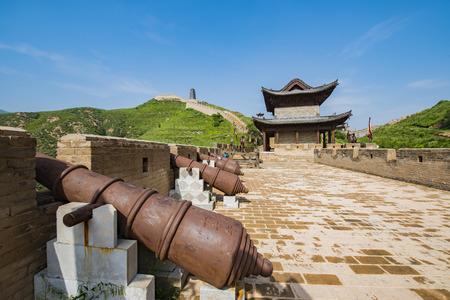 chinese shanxi, xinzhou city, on behalf of the county, the world cultural heritage yanmen pass 版權商用圖片