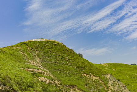 The Inner Mongolia Autonomous Region grassland scenery, China.