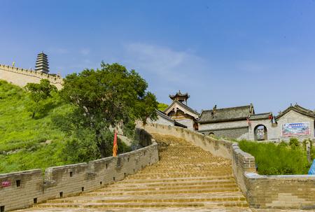 the world cultural heritage Yanmen Pass, Shanxi, Xinzhou City, China.