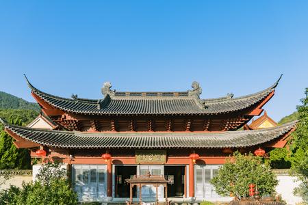 ancestral: Huang Daxian, ancestral temple, Jinhua at Zhejiang, China.